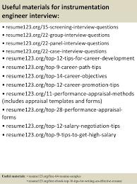 Instrumentation Project Engineer Resume Top 8 Instrumentation Engineer Resume Samples