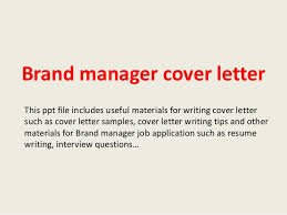 sample marketing cover letter example writing an excellent cover