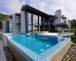 infinity swimming pool designs infinity edge perimeter overflow