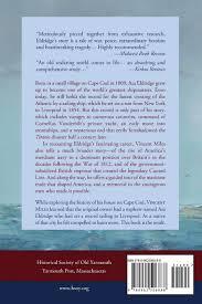 the lost hero of cape cod captain asa eldridge and the maritime