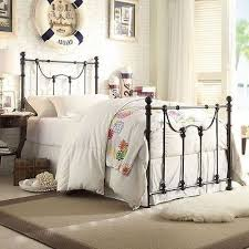 Bed Frame With Headboard And Footboard Fancy King Metal Bed Frame Headboard Footboard 92 With Additional