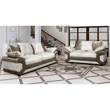 Cheap Armchairs For Sale Uk Cheap Sofa Uk Calvin Crushed Velvet Fabric Sofa Set Brown
