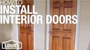 can you use an existing door for a barn door how to install a pre hung exterior door lowe s