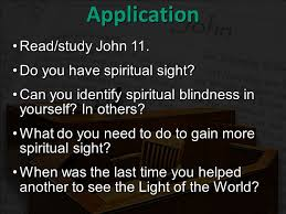 Blindness In The World Eyewitness Testimony Of The Man Born Blind Jesus Gives Sight To