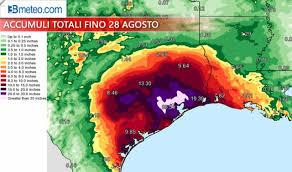 Mm Di Pioggia Uragano Harvey Battuti Ogni Record Di Pioggia Almeno 18 Vittime