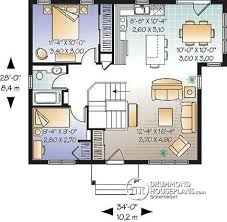 open house plans with large kitchens house plan w3114 detail from drummondhouseplans com