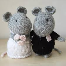wedding gift knitting patterns wedding mice morning coat corsage and yarns