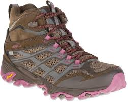 womens boots rei merrell moab fst mid wp hiking boots s at rei