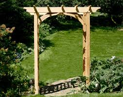 wedding arbor kits cedar canterbury arbor gates fences and fencing materials