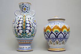 foto vasi vasi in ceramica con decori tradizionali faentini la vecchia