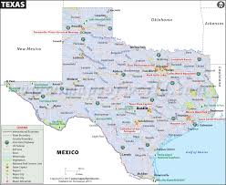 map of texa map map of tx usa