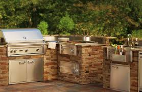 Top Outdoor Kitchen Packages  BBQ Guys - Outdoor bbq kitchen cabinets
