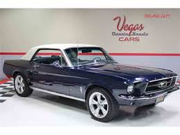 Black 67 Mustang Coupe 1967 Ford Mustang For Sale On Classiccars Com 135 Available