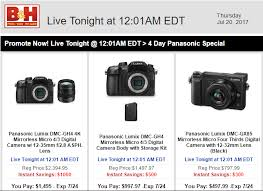 best camera kit deals black friday deals 300 off on panasonic gx85 kit and 500 off on