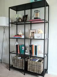 Steel Frame Bookcase Sl Designs Ikea Vittsjo Bookcase In The Living Room
