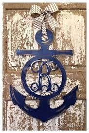 Door Monogram Decoration Best 25 Door Initial Ideas On Pinterest Initial Door Letters