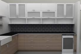 Glass Designs For Kitchen Cabinets Kitchen Wall Cabinets With Glass Doors Kutskokitchen