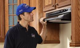 how to install a range hood under cabinet a range hood