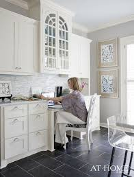 Tile In Kitchen 57 Best Kitchen Offices Images On Pinterest Kitchen Desks Home