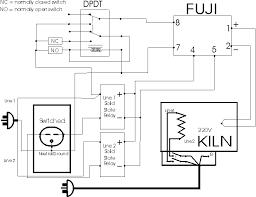 220v kiln proposed circuit diagram