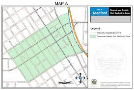 Medford Oregon Map by City Of Medford Oregon Municipal Code