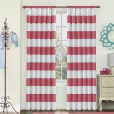Purple And Cream Striped Curtains Striped Curtains U0026 Drapes You U0027ll Love Wayfair