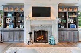 wall units glamorous custom built in cabinets prefabricated