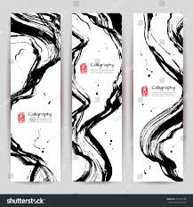 vertical banners set modern asian style stock vector 551435188