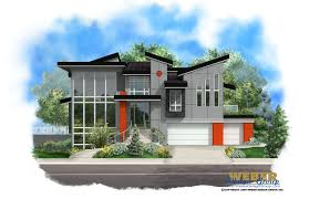 contemporary homes floor plans modern house plan stock 2 story contemporary home floor plan