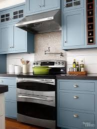 electric blue kitchen cabinets kitchen cabinet paint color with gorgeous blue for