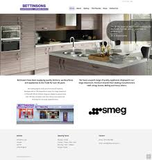 bettinsons kitchens web design leicester