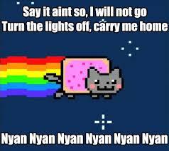 Nyan Meme - lol funny meme blink 182 nyan cat matthewsadej