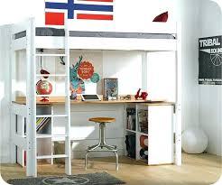 bureau en mezzanine lit mezzanine avec bureau et armoire vast lit mezzanine bureau lit