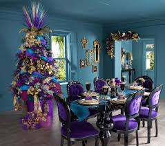 home interior direct sales delightful trees decorated in silver and blue color