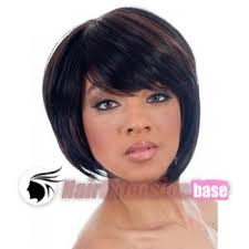 jet black short hair inch straight short african american hair wigs 1 jet black