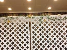wedding backdrop lattice lattice wedding backdrop 400 obo wedding winnipeg kijiji
