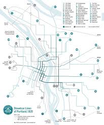 Map Portland by New Project Work In Progress U2013 Historical Map Transit Maps
