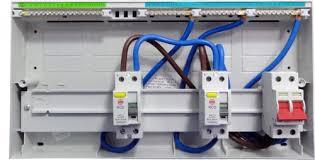 nhrs15sslhi 15 ways dual rcd consumer unit fully loaded