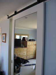 How To Hang A Barn Door by Barn Door In Belmont