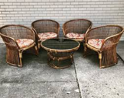 Outdoor Rattan Armchairs Rattan Chair Etsy