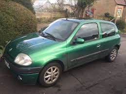 renault clio sport green 2000 renault clio sport spares repairs project in