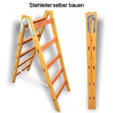 K He Holz Eine Stehleiter Klappleiter Aus Holz Für Den Privaten Gebrauch Bauen