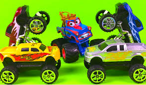 bigfoot presents meteor and the mighty monster trucks speed wheels giant wheels monster trucks mighty wheels truck