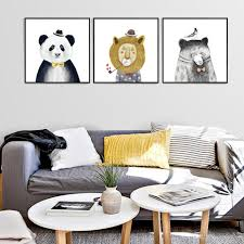 2017 figure painting wall paintings of the nordic modern room 2017 figure painting wall paintings of the nordic modern room wall mural painting minimalist of small fresh panda children bedroom painting from artship