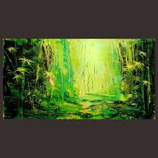 abstract handmade painting modern contemporary 62 best bambu images on painting leaves and