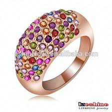 small metal rings images Cheap finger small stone ring designs for women wedding alloy jpg