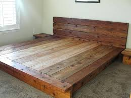 Reclaimed Wood Headboard King Platform For Bed Frame Reclaimed Wood Queen Platform Bed Frame
