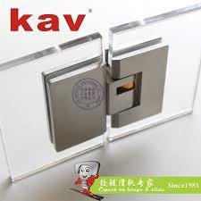 stainless steel hinges 90 degree self closing glass shower door