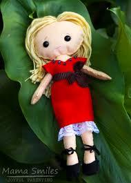 sew a felt doll newborn photos and april goals