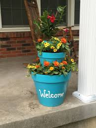 planter landscaping flowers diy cherishing the chaos